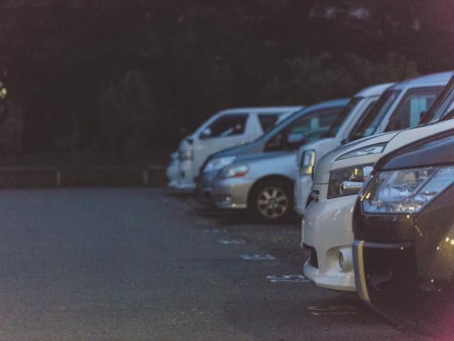専用駐車場があります!
